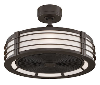 """13"""" Beckwith Fanimation Contemporary Ceiling Fan"""