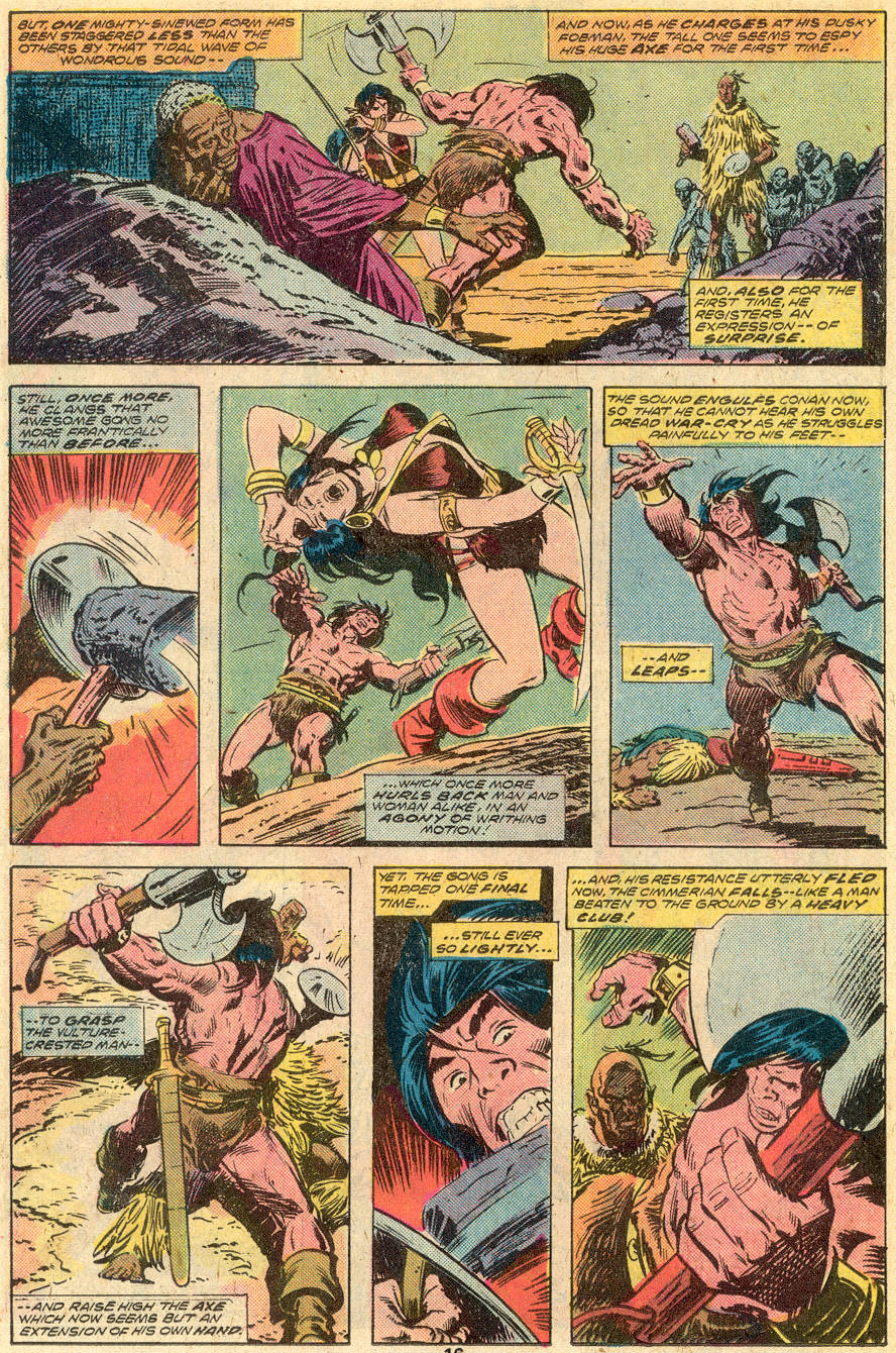 Conan the Barbarian (1970) Issue #65 #77 - English 11