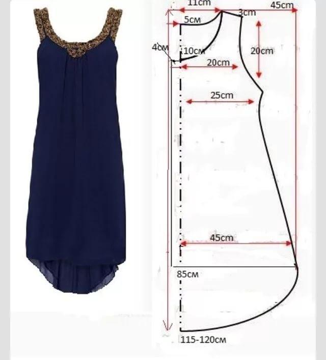 Легкие покрои летних платьев