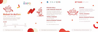 "Lomba Robot ""Robot in Action"" ITS Expo 2016"
