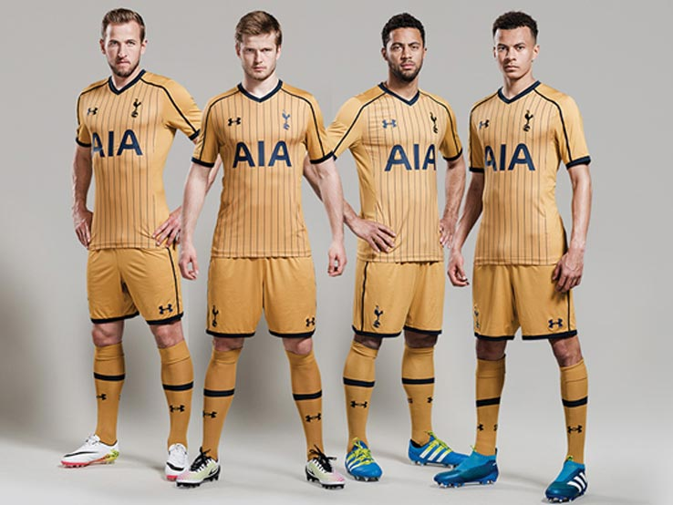 new arrival 3175f bfdef Tottenham Hotspur 16-17 Third Kit Released - Footy Headlines