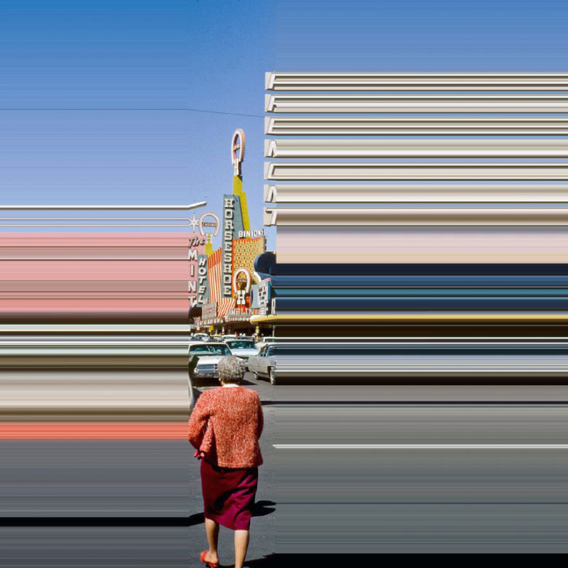 Lines We Live By: Photo Distortions by Frances Berry