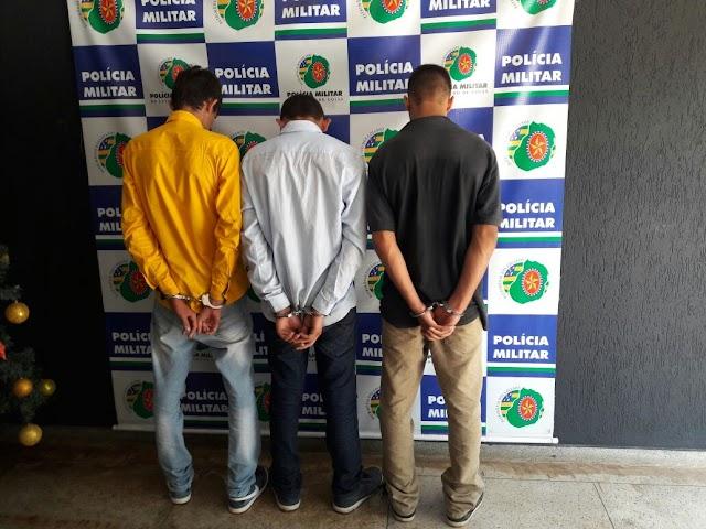 Menores são apreendidos em flagrante roubando loja em Senador Canedo
