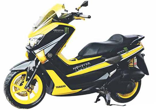 modifikasi motor yamaha nmax foto gambar30  terbaru
