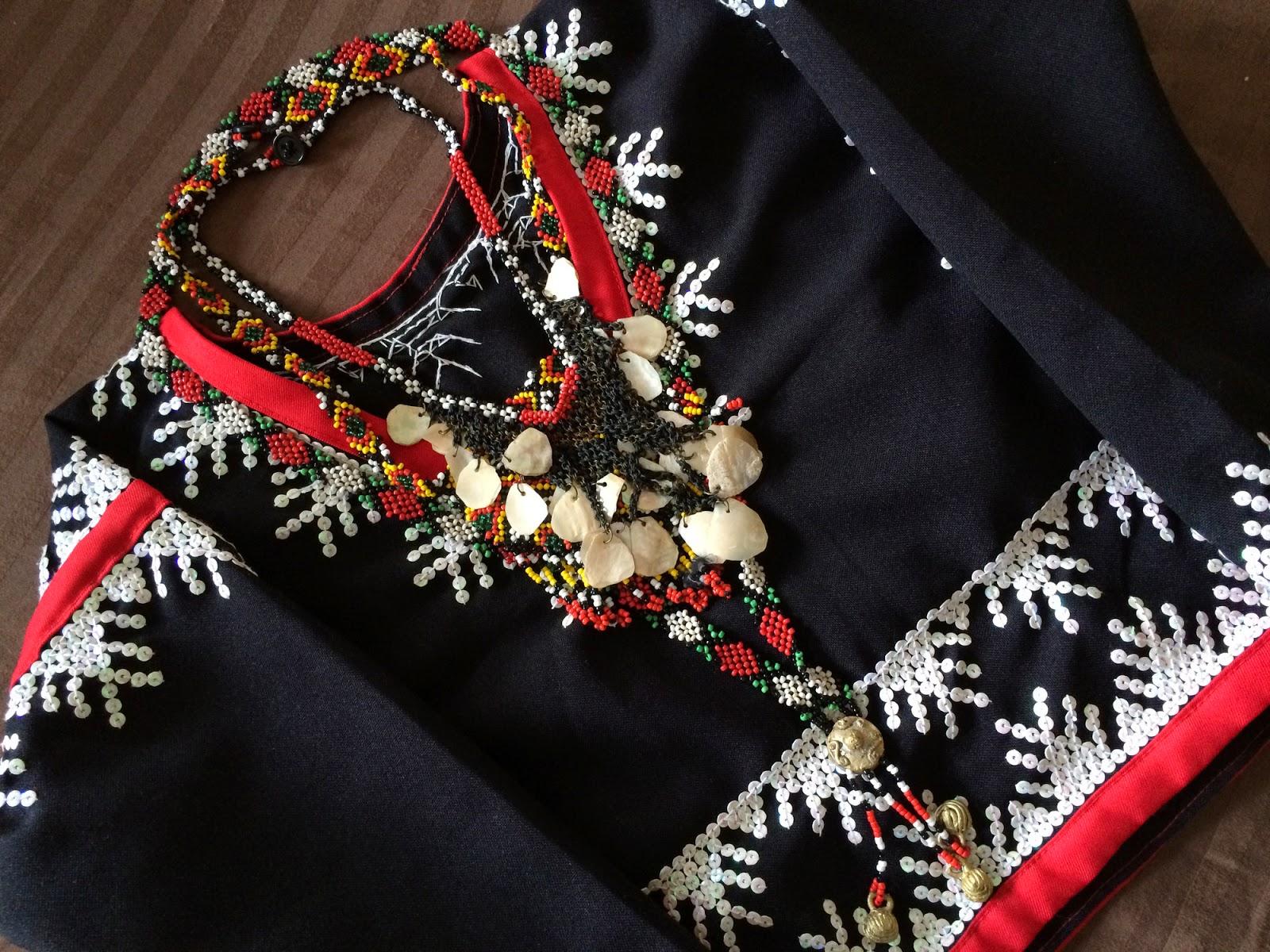 manila fashion observer: Buwan Ng Wika: Berry's T'boli
