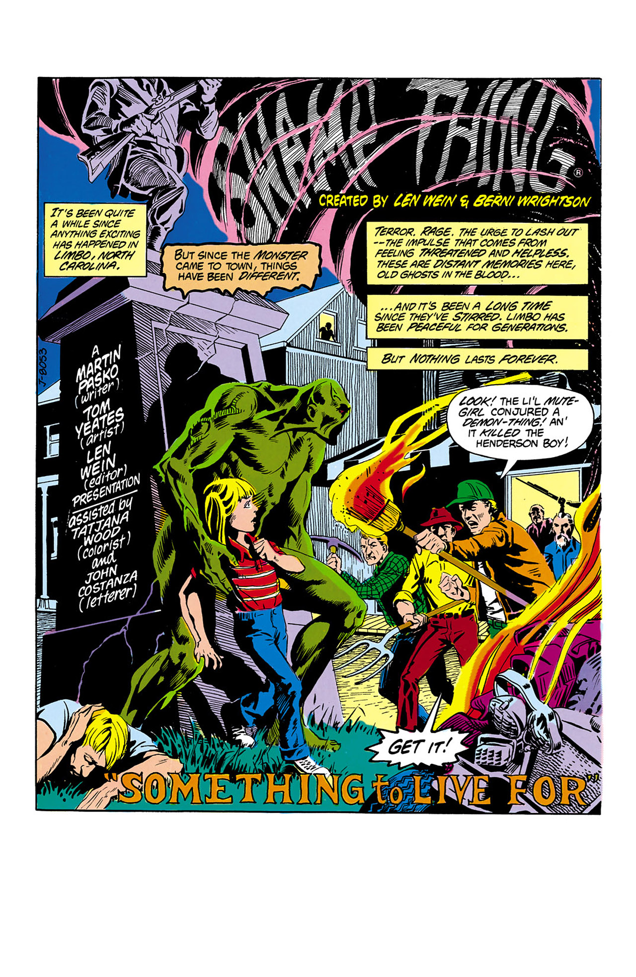Swamp Thing (1982) Issue #2 #10 - English 2