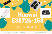 [Ultimate Guide] How to unlock Huawei E3372h-153 4G LTE USB modem