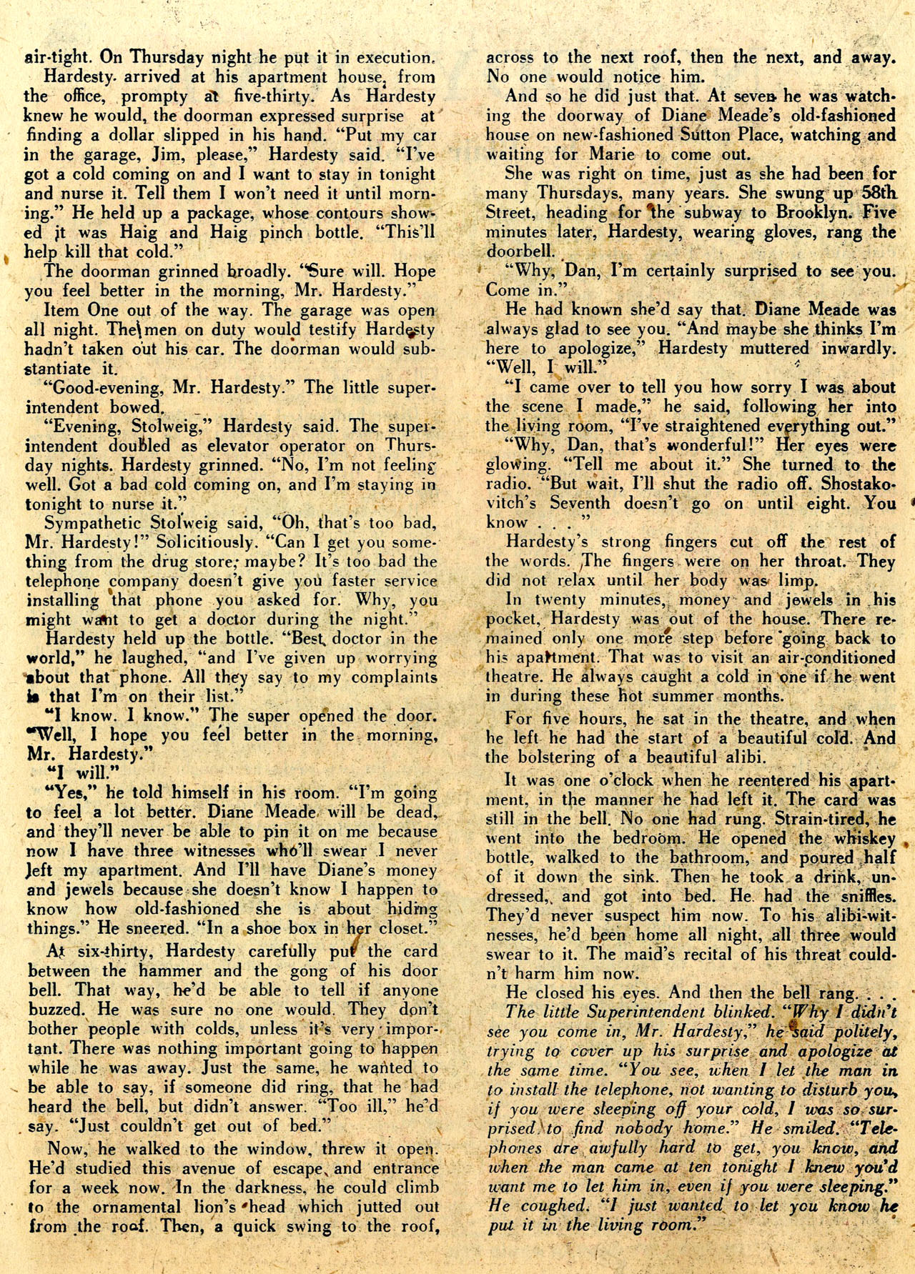 Read online Detective Comics (1937) comic -  Issue #112 - 36