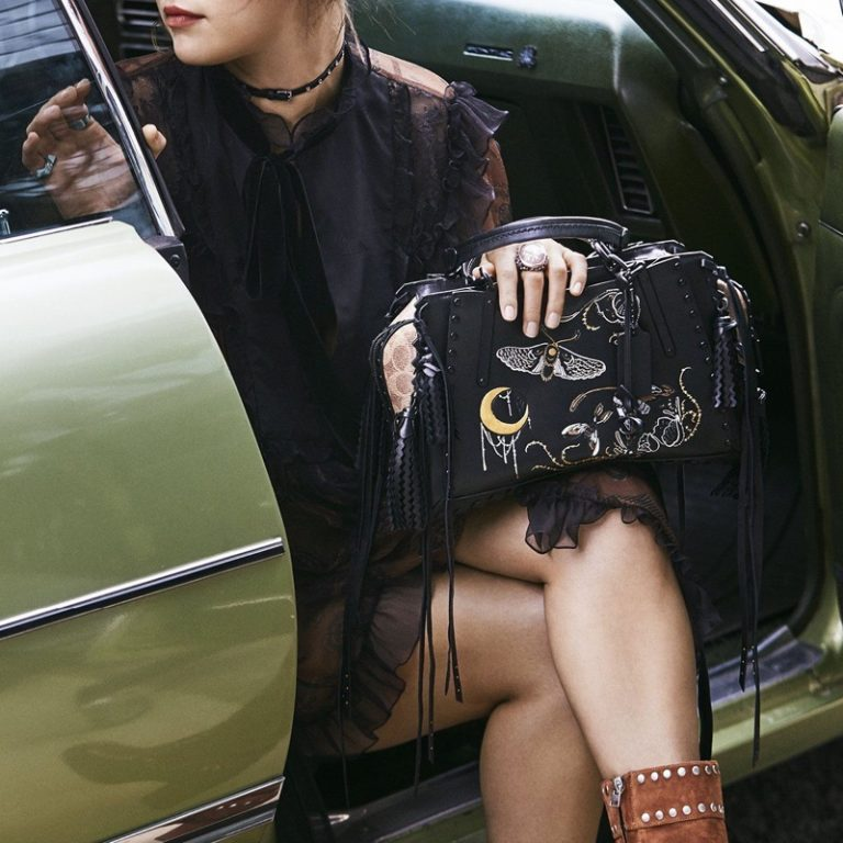 Selena Gomez for Coach Fall Winter 2018