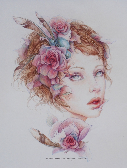 15-Porcelain-Life-Jennifer-Healy-Traditional-Art-Color-Pencil-Drawings-www-designstack-co
