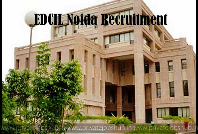 EDCIL Noida Recruitment