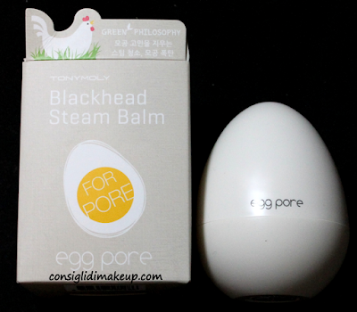 Review: Blackhead Steam Balm Egg Pore - Tonymoly