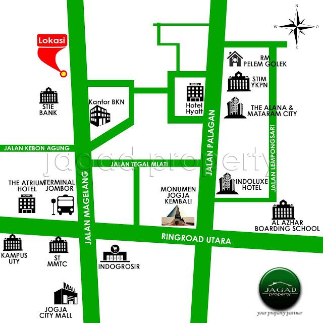 Ruko Tepi jalan Magelang Km 8