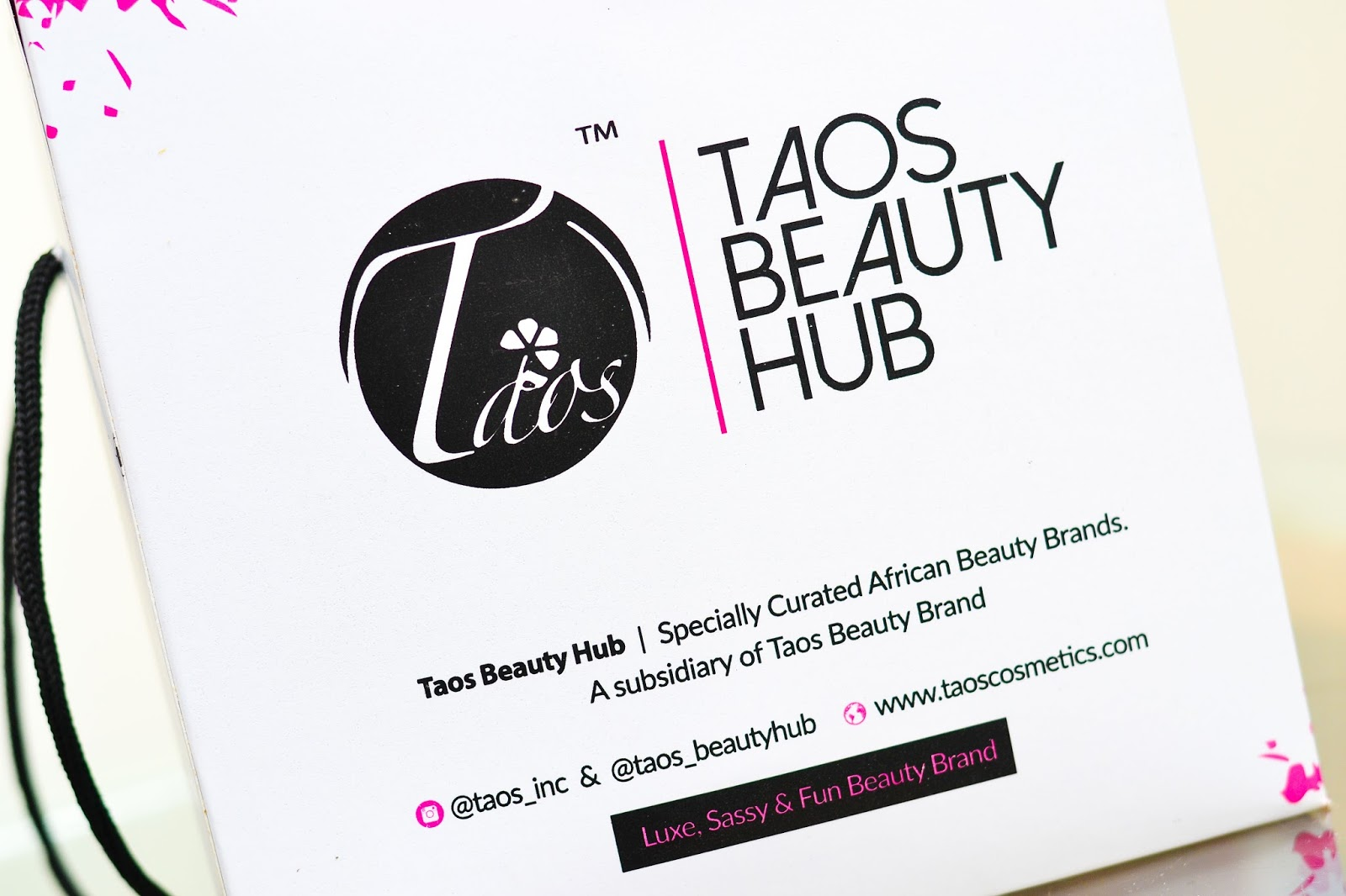 Taos Cosmetics Products