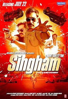 Singham (2011) Hindi 720p BluRay 990MB
