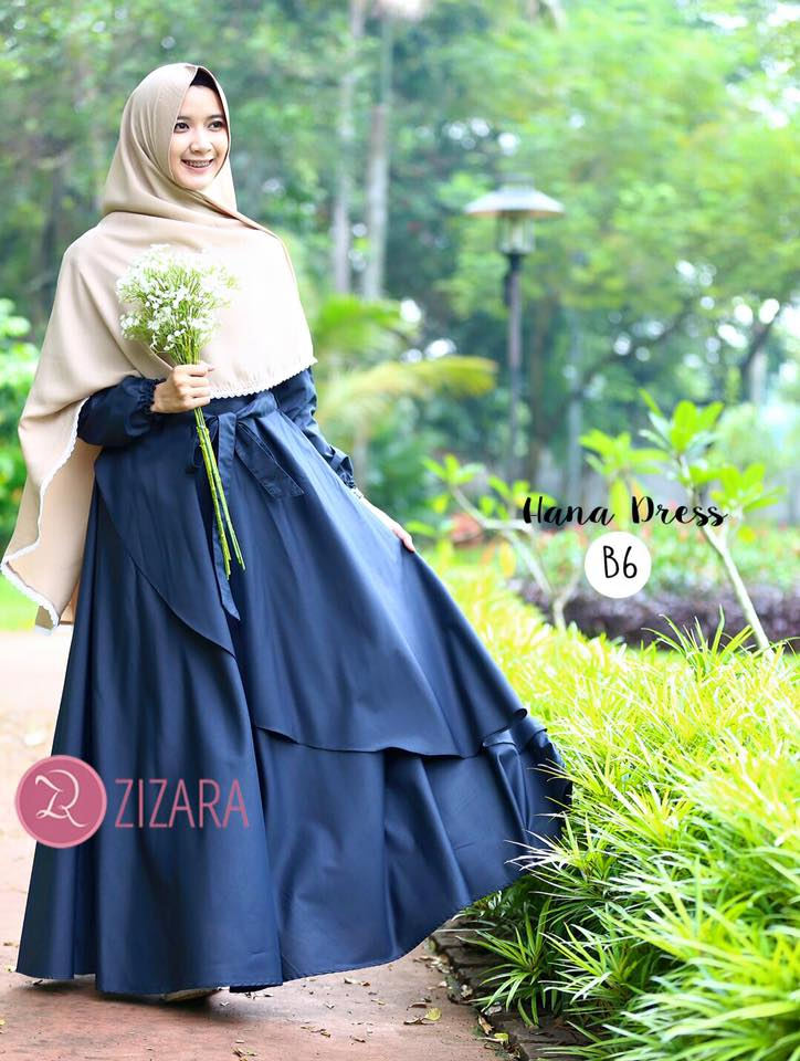 Gamis Zizara Hana Dress B6