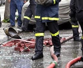 ΤΩΡΑ! Φωτιά σε υπόγειο διαμέρισμα στη Θεσσαλονίκη