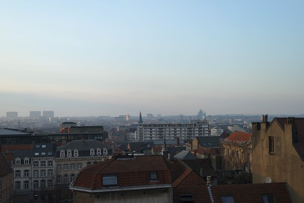 bruxelles panorama palais justice