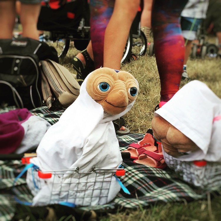 ET at Camp Bestival