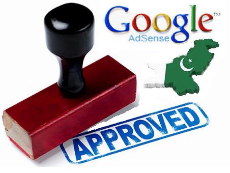 Get an Adsense Account aprovel in Pakistan