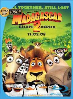 Madagascar 2 2008 HD [1080p] Latino [Mega] dizonHD