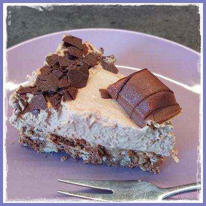 Frau Tschi-Tschi: Leckere Nougat-Sahne-Torte mit Bueno