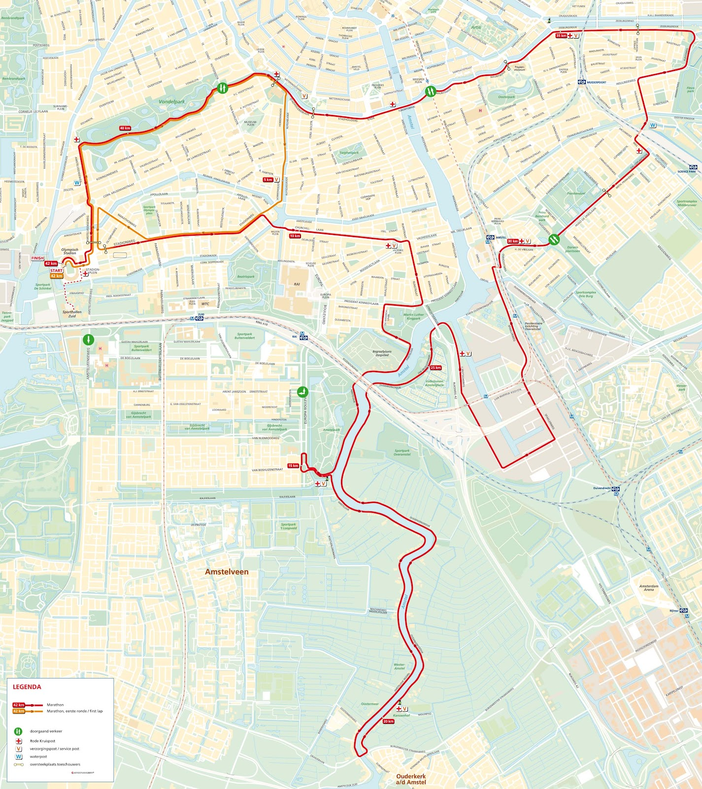 Wonderbaar RunningDutch: RunningDutch Review: Amsterdam Marathon WL-37
