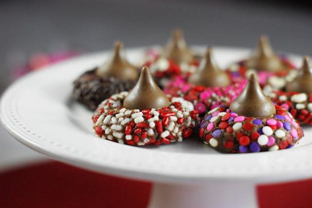 Chocolate Valentine Kiss Cookies Photo