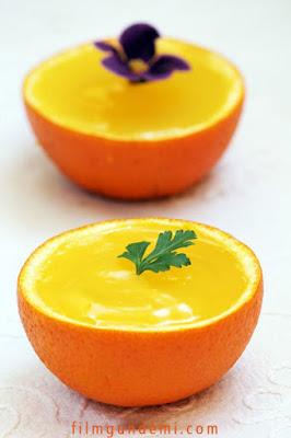Portakal kabuğunda tatlı