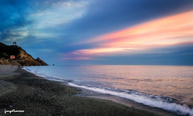 sunset, alla mare, sea, mer, méditérannée, Ligurie, Italie, Cinque Terre
