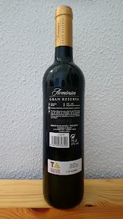 Vino tinto Mercadona: Armónico, DO Terra Alta, Gran Reserva 2011