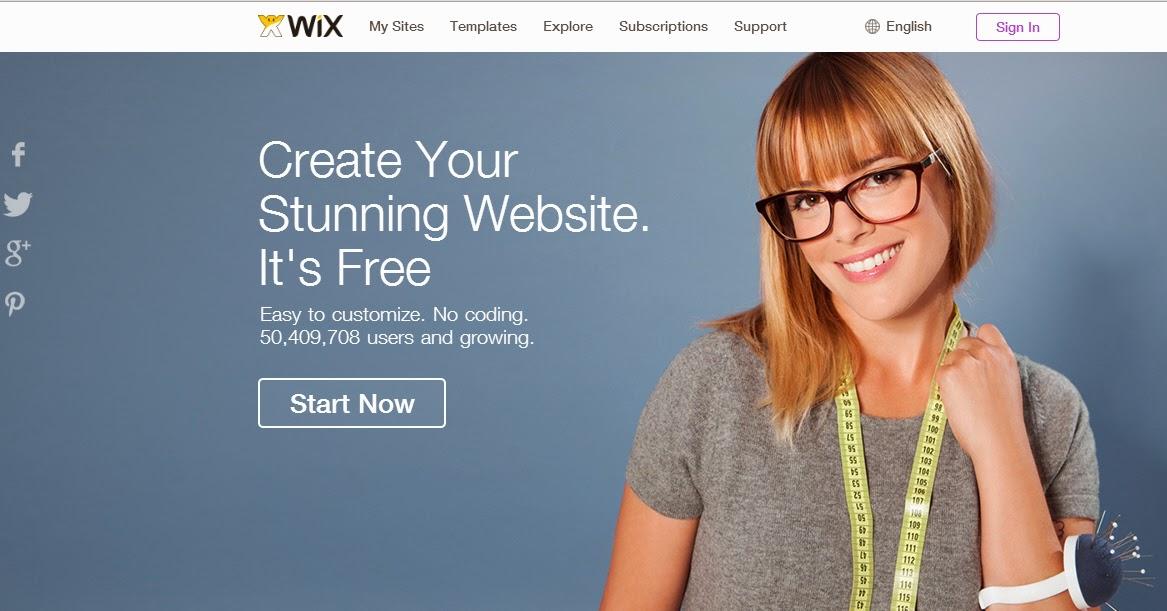 Create beautiful website