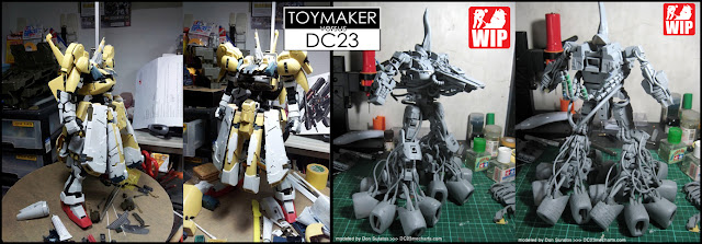 Toymaker versus DC23 build off poster