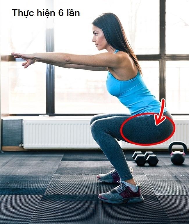 3 động tác đơn giản mỗi ngày cho body khỏe đẹp