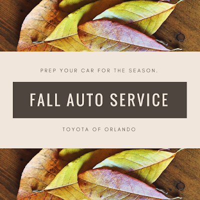 Toyota of Orlando fall auto service