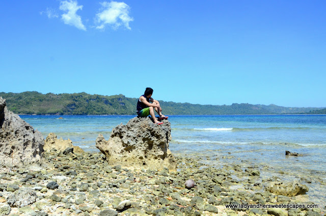 rocky island in Sipalay
