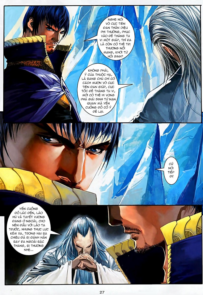 Ôn Thuỵ An Quần Hiệp Truyện Phần 2 chapter 5 trang 27