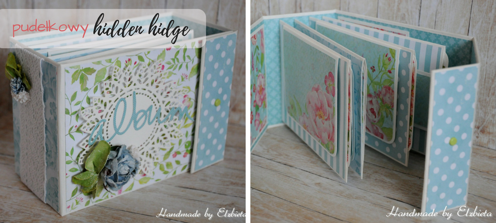 Album pudełkowy - Handmade by Elżbieta