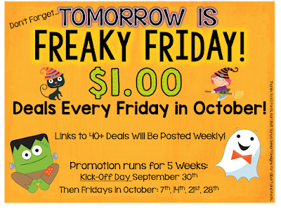 Freaky Friday Dollar Deals...Week 5 & A Giveaway!