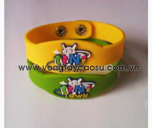 Vòng đeo tay cao su dành cho trẻ em