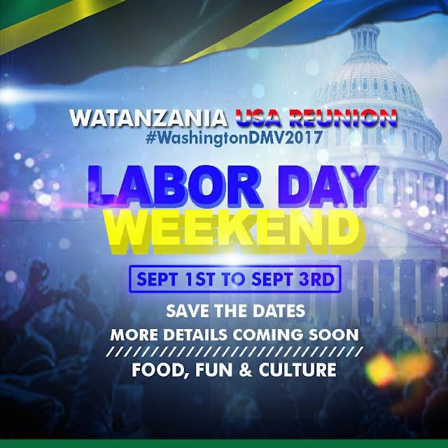 WATANZANIA WASHINGTON, WAIRUDISHA LABOR DAY WEEKEND KWA KISHINDO