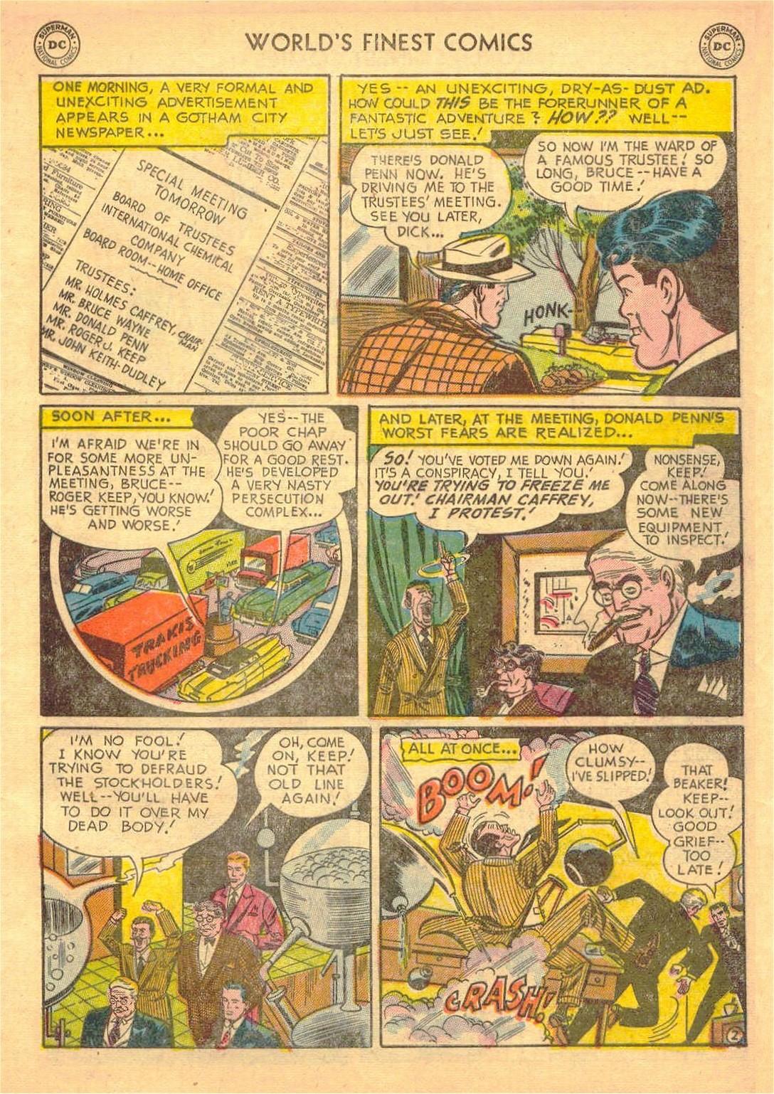 Read online World's Finest Comics comic -  Issue #58 - 55