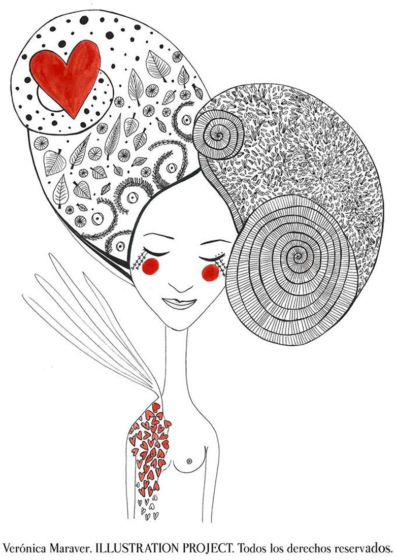 Está con nosotros Verónica Maraver, una ilustradora que quita el sentido, vamos a conocerla de una manera mucho más personal