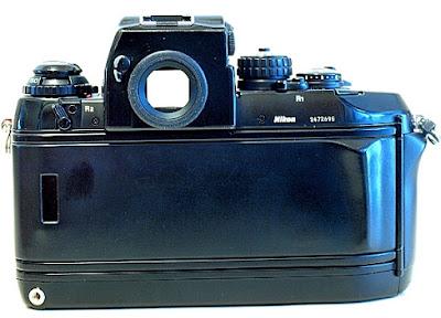 Nikon F4, Back