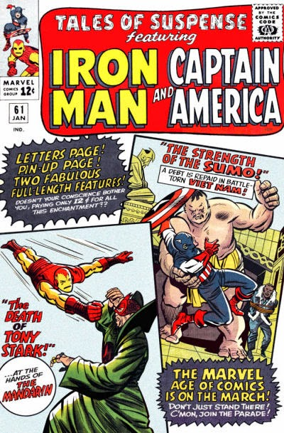 Tales of Suspense #61, Captain America, Iron Man