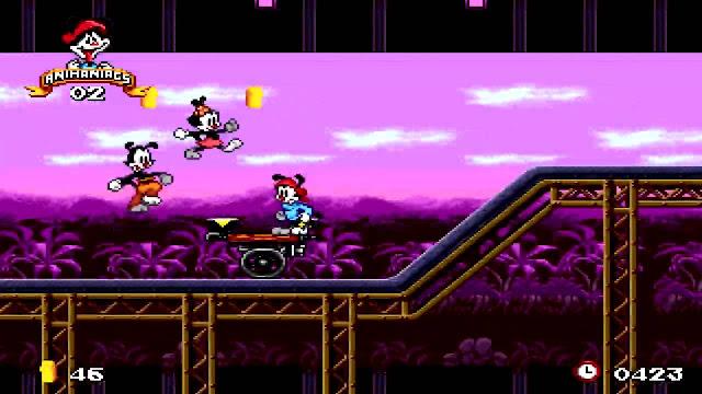 Animaniacs Mega Drive