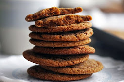 CLASSIC CHEWY GINGERSNAP (GINGER MOLASSES) COOKIES YUMMY