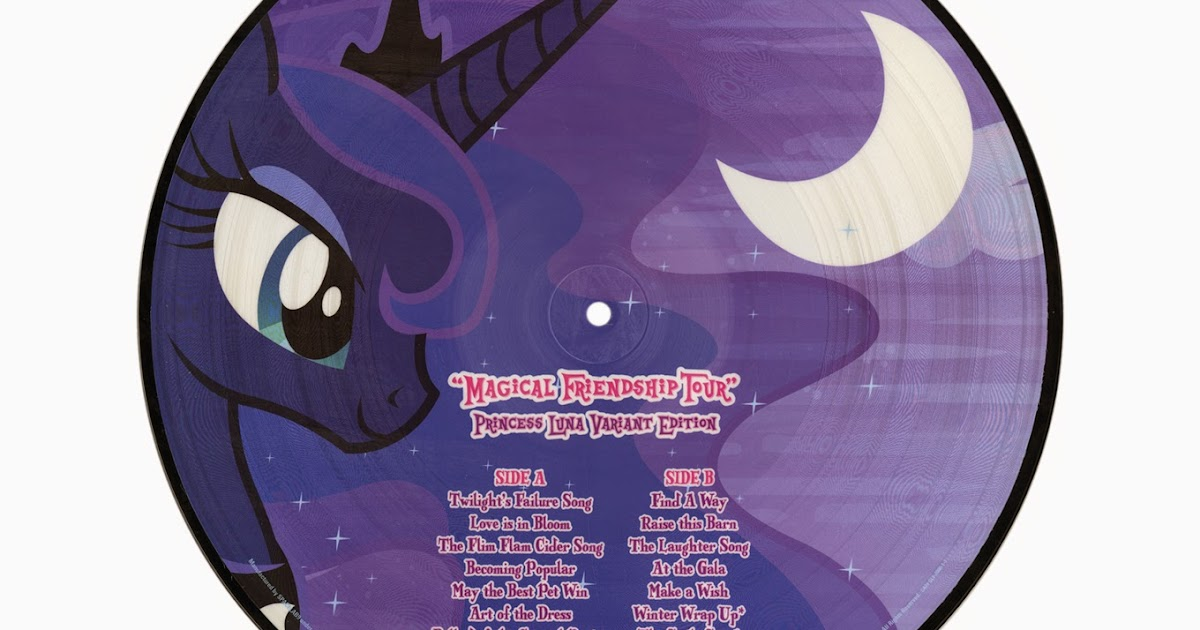 Hot Topic List Princess Celestia And Luna Vinyl Lp S Mlp