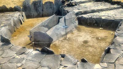 Peti batu di Situs Purbakala Cipari