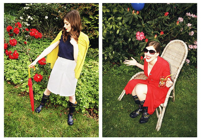 British summer fashion